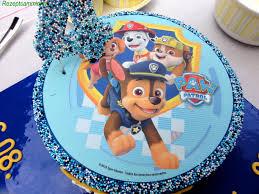 biskuit paw patrol geburtstags torte