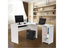 bureau angle conforama superbe bureau informatique d x27 angle blanc neuf sglcd810w