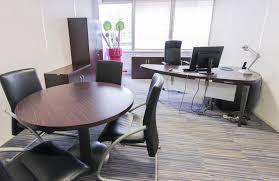 bureau couleur wengé mobilier de direction en bois couleur wenge et metal laque
