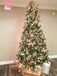Copper Theme Christmas Tree