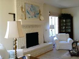Paint Colors Living Room Red Brick Fireplace by Living Room Brick Fireplace Living Room Painted Brick Fireplace
