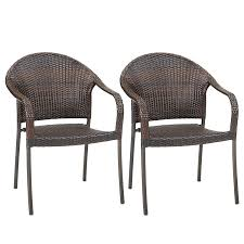 Outdoor Wicker Stacking Chairs Set Of 2 | Best Selling Patio Chair ! Gdf Studio Dorside Outdoor Wicker Armless Stack Chairs With Alinum Frame Dover Armed Stacking With Set Of 4 Palm Harbor Stackable White All Weather Patio Chair Bay Island Noble House Multibrown Ding 2pack Plowhearth Bistro Two 30 Arm Brown 51 Bfm Seating Ms11cbbbl Gray Rattan Inoutdoor Restaurant Of Red By Crosley Fniture