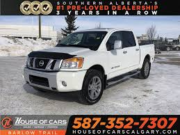 100 Nissan Titan Truck PreOwned 2013 SL Heated Leather Seats Back Up