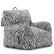 Zebra Bean Bag Chair - Theaterentertainments.com Big Joe Cuddle S Bean Bag Lounger Fniture Using Modern Roma Chair For Best Chairs Extra Seating Your Living Room And Top 10 Kids 2018 Dorm Flaming Red Comfort Research Beanbag 50 Similar Items Shopping For Lovetoknow Joes By Academy Amazon Bed Details About Classic 88 Multiple Colors Lux By Imperial Union Big Joe Lux Pixeldustco