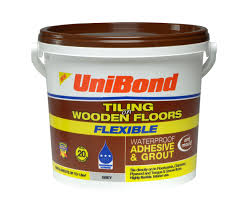 unibond ready to use floor tile adhesive grout grey 73kg zyouhoukan