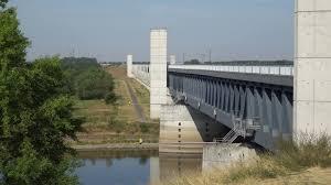 100 Magdeburg Water Bridge Famous Wasserstrasenkreuz Stock Video Footage Storyblocks Video