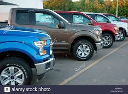2016 New Ford Trucks For Sale On A Car Dealer Lot Stock Photo ... Used Ford Trucks For Sale 1973 To 1975 F100 On Classiccarscom F250 Scores Up 5 Stars In Crash Test 1991 4x4 Pickup Truck 1 Owner 86k Miles For Youtube Custom 6 Door The New Auto Toy Store Archives Page 2 Of Jerrdan Landoll Cars Oregon Lifted In Portland Sunrise 2017 Ford E450 For Sale 1174 World Fdtruckworldcom An Awesome Website Top Luxury Features That Make The F150 Feel Like A Depot Commercial North Hills