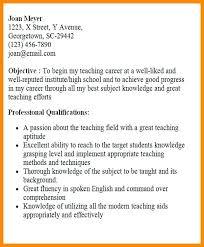 Great Teacher Resume Examples Samples For Sample Best Elementary