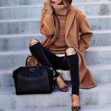 Classy Overcoats And Wool Coats Are Perfect For Winter Date Night Outfits