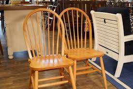 Seven Spindle Bow Back Windsor Chair From Dutchcrafters Amish