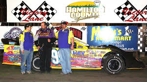 100 Quest Trucking Hamilton County Speedway Photo Gallery Feature Winner 4272013