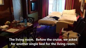 Norwegian Pearl Cabin Plans by The Haven 2 Bedroom Family Villa With Balcony Epic Memsaheb Net