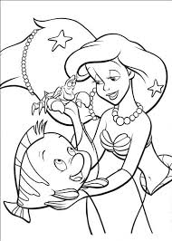 Download Ariel With Pearls Little Mermaid Coloring Pages Or Print