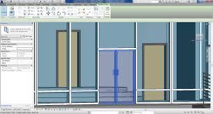 Kawneer Curtain Wall Doors by Revitcity Double Door U0026 External Double Door Sc 1 St Revit City