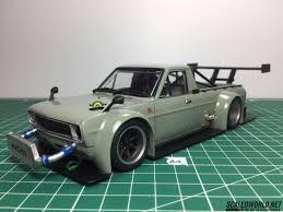 100 Datsun Truck Drift ScaledWorld