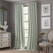 Bed Bath And Beyond Curtains Draperies by Valeron Estate Cotton Linen Window Curtain Panel Bed Bath U0026 Beyond