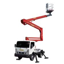 100 Truck Mounted Boom Lift Mounted Telescopic Boom Lift Compact P 200 AR