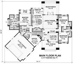 Craftsman Style Floor Plans Bungalow by 405 Best House Plans Images On Pinterest Architecture Cottages
