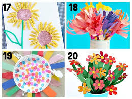 Pretty Flower Crafts For Kids 17 20