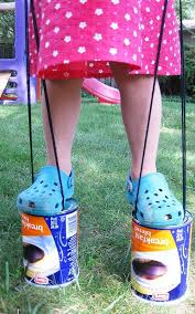 DIY Can Stilts Craft Projects