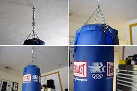 Everlast Heavy Bag Ceiling Mount by Heavy Bag In The Office Rainydaymagazine