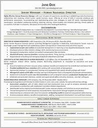 Human Resources Generalist Resume Examples Free Download