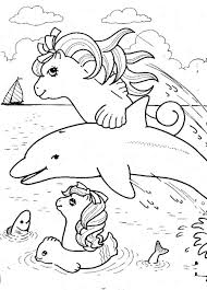 Pony Coloring Pages 25 My Little Cartoon Free