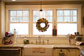 kitchen lighting light above sink pyramid global inspired