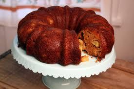 Apple Butter Pumpkin Bundt Cake recipe from the Loveless Cafe
