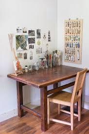 Corner Desk Organization Ideas by Best 25 Art Desk Ideas On Pinterest Craft Room Design Dream