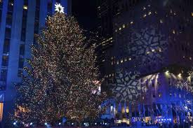Rockefeller Center Christmas Tree Lighting 2014 Live by Rockefeller Christmas Tree Lighting Attracts Thousands Wtop