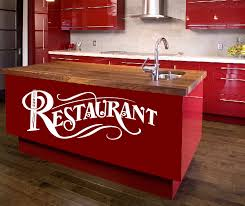 wandtattoo wandtattoos wandaufkleber restaurant aufkleber