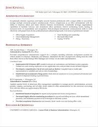 Rhnyustrausorg Sample For Administrative Awesome Unchain Rhaurelianmgcom Resume Profile Examples Executive Assistant