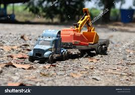 100 Big Truck Toys Toy Backhoe Car On Toy Stock Photo Edit Now 1072979039