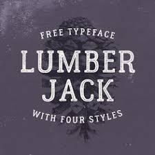Check Out This Behance Project Lumberjack Free Font FreeRustic StyleFontsWork