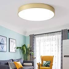 aokarlia led runden deckenleuchten modern golden hell flush square badezimmerleuchten zum für wohnzimmer schlafzimmer energieklasse a