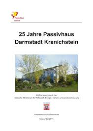 25 jahre passivhaus darmstadt kranichstein