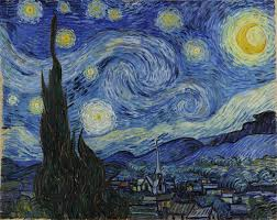 Starry Night By Vincent Van Gogh Painting