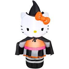 Disney Halloween Airblown Inflatables by Airblown Inflatable Hello Kitty Witch