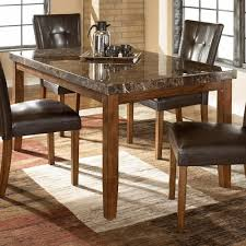 Signature Design By Ashley Lacey Rectangular Dining Table W Faux Marble Top
