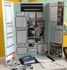 This Display Board Was Created By A First Year Science Fair Competitor