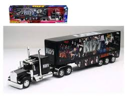 100 Diecast Truck Models Amazoncom NEW 132 NEWRAY TRUCK TRAILER COLLECTION BLACK