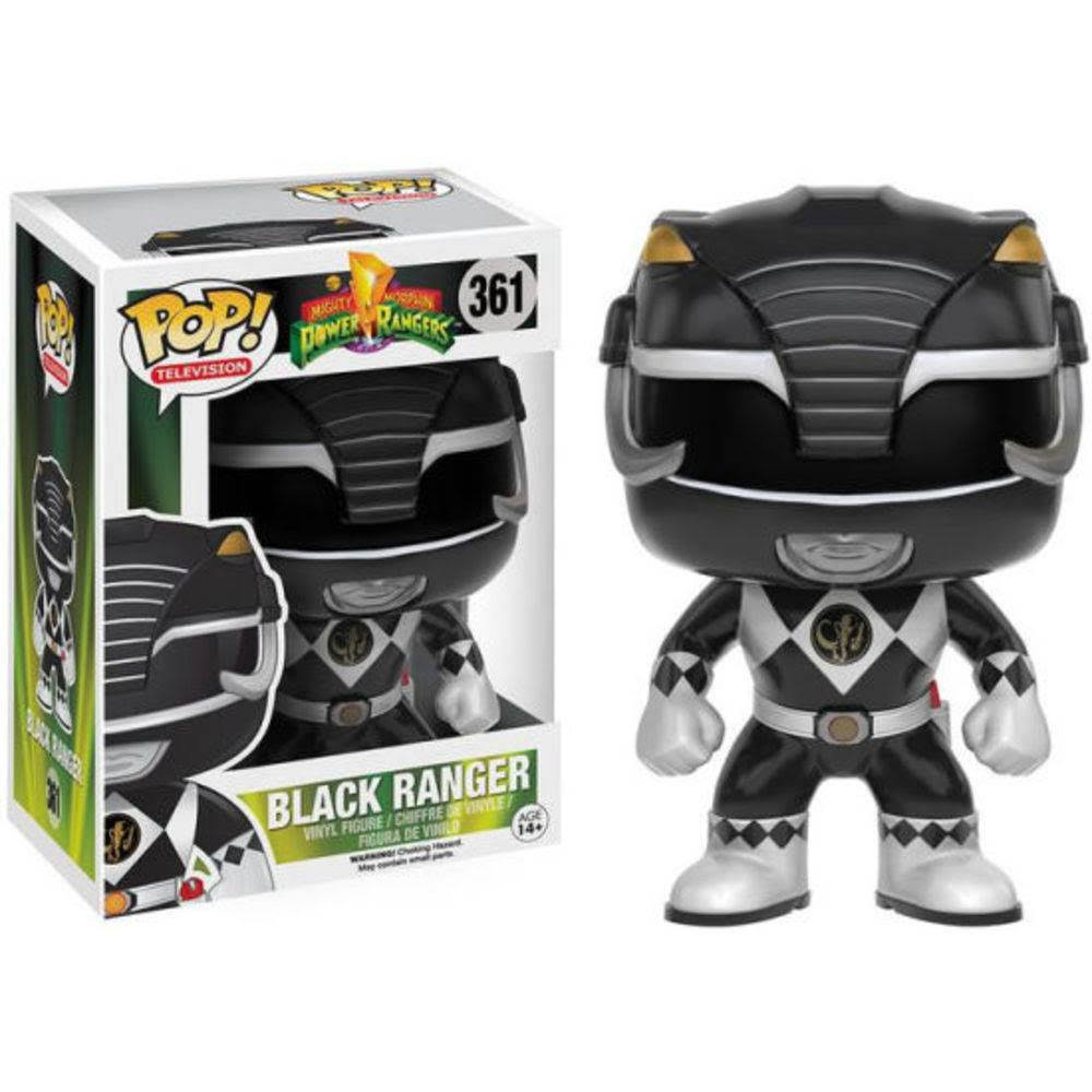 Funko Pop 361 Power Ranger Black Ranger Action Figure