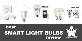 best smart light bulbs review smarthomesage