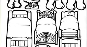 Goldilocks And The Three Bears Coloring Pages Pertaining To Encourage Color An Image