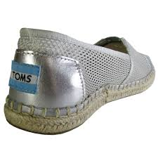 toms womens classic mesh slip on casual shoe