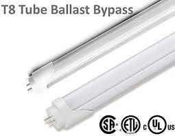 t8 led 4ft 48 inch ballast bypass bulb 18w 32w fluorescent