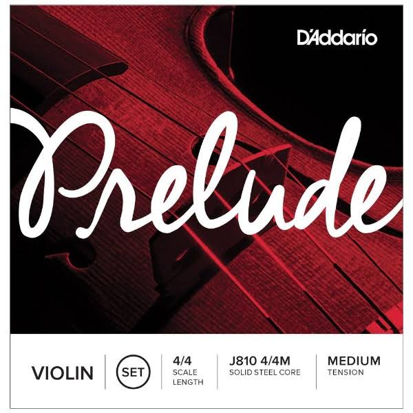 D'Addario J810 4/4 Scale Violin Strings