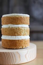 Naked Lemon Layer Cake Recipe And Tutorial