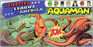 Aquaman Justice League Of America 1966 Board Game Box